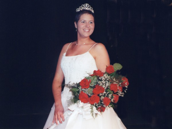 May Queen Lindsey Marie Popelas, May 22, 2002