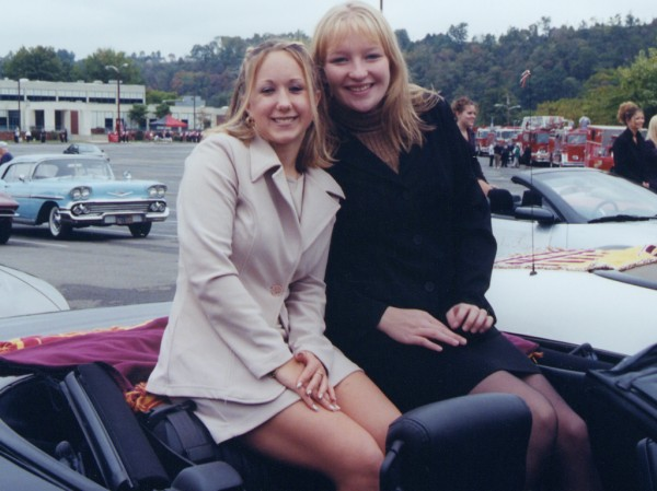Katey Doman and Meghan Slavic, October 12, 2002