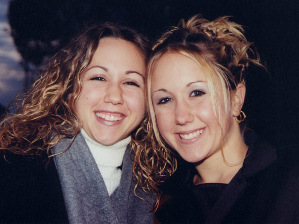 Lucy Doman and Katey Doman, October 18, 2002